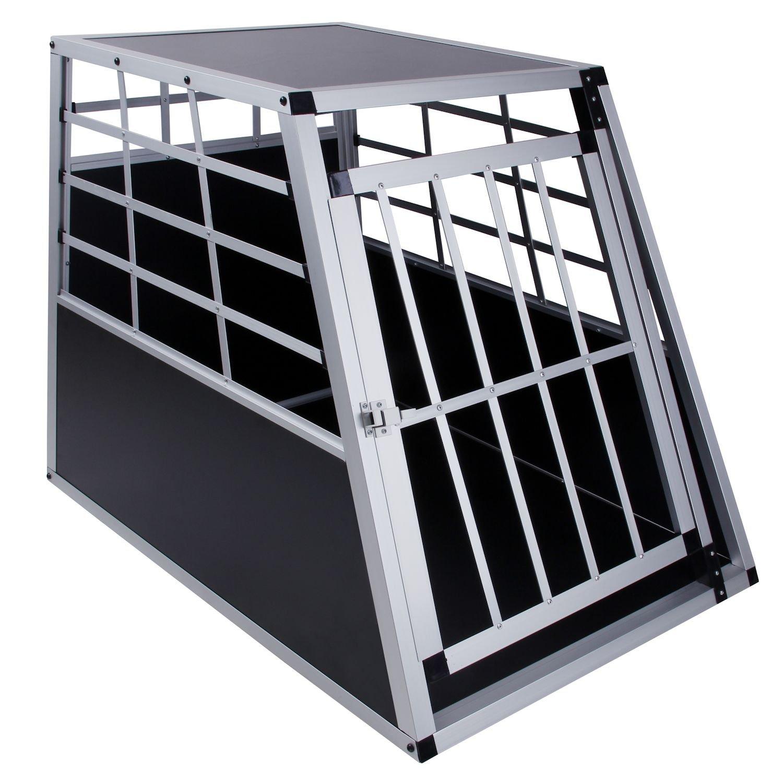 Dog Transport Box 65 x 36 x 69 cm Aluminium Car Box DC1