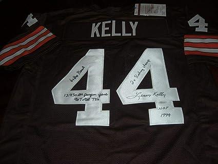 6ddc33aad LeRoy Kelly Signed Jersey - hof94 full Stats coa - JSA Certified -  Autographed NFL Jerseys