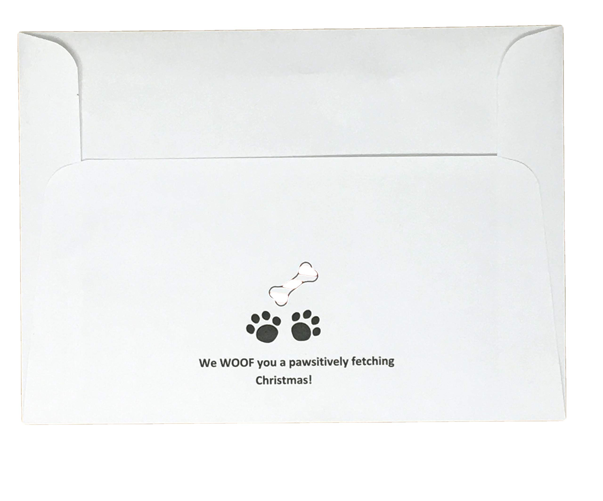 Paws and Pets Wrapping Paper (Christmas Dog Cards)