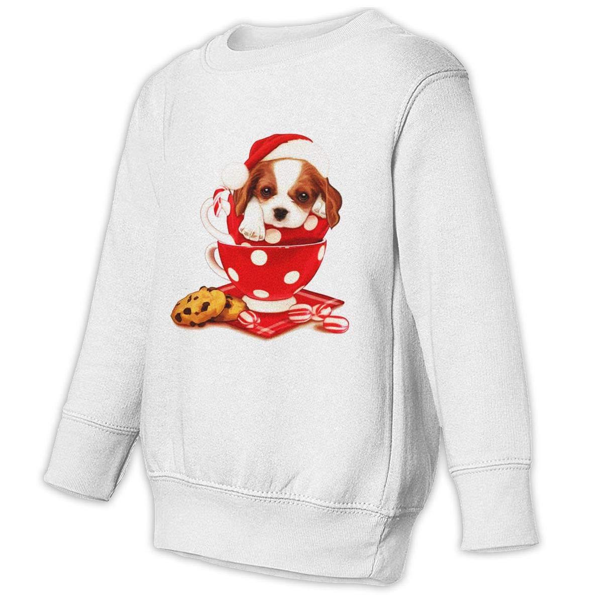 NMDJC CCQ Christmas Puppy Baby Sweatshirt Lovely Juvenile Hoodies Comfortable T Shirts