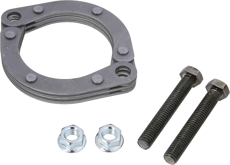 "2.5/"" 2-1//2/"" inch Exhaust Flange Flat Oval Split Repair Replacement"