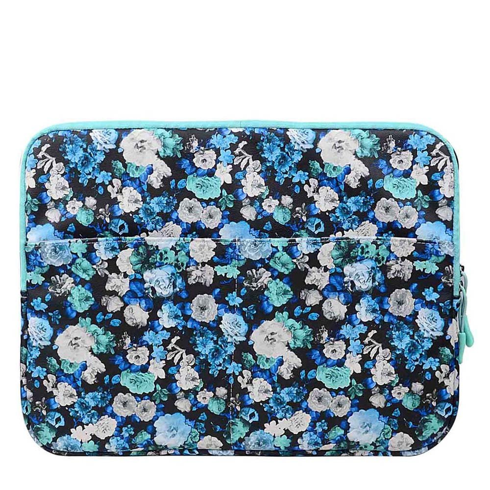 13.3 inch Laptop Sleeve Case Bag for Macbook Air 13 Pro Retina 13 Computer Bag for 13.3 Inch Tablet (Blue Chamomile) XeYOU 22-AW281
