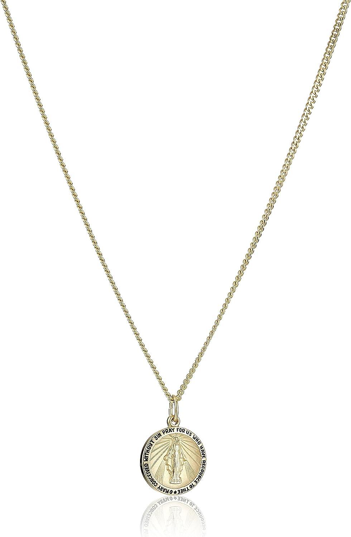 Catherine Laboure Pendant DiamondJewelryNY 14kt Gold Filled St