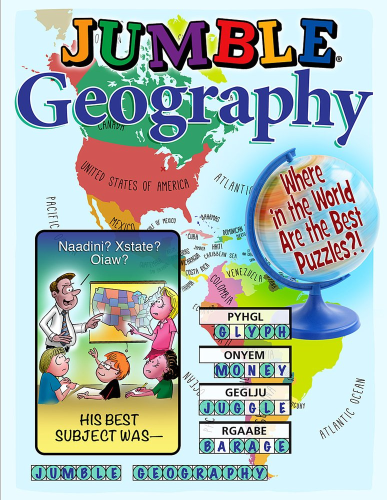 Download Jumble® Geography: Where in the World Are the Best Puzzles?! (Jumbles®) PDF