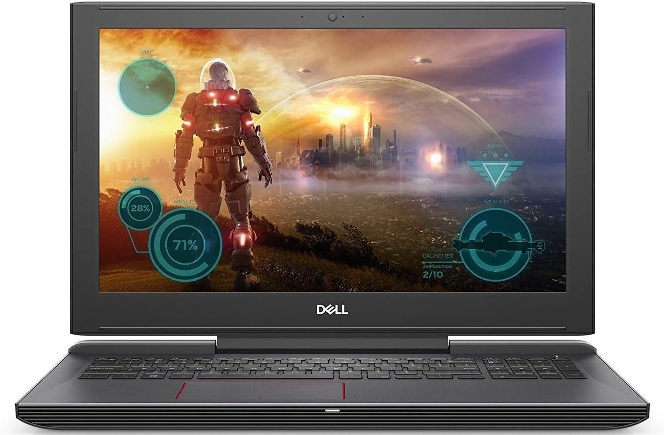 Dell Inspiron 15.6-inch Full HD Gaming Laptop, Intel Quad Core i5-7300HQ, 8GB DDR4 RAM, 256GB SSD, NVIDIA GeForce GTX 1060, Backlit Keyboard, Bluetooth, Win 10, Matte Black