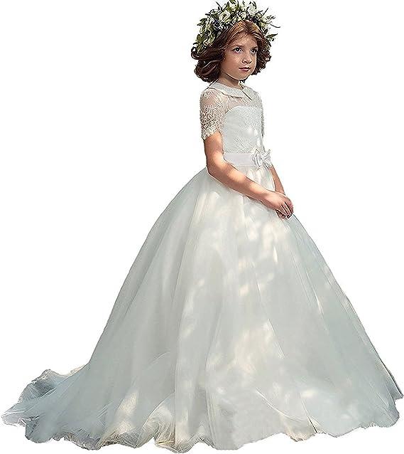 Amazon Com Yeoyaw Flowers Girls Christmas Holiday Dresses Kids