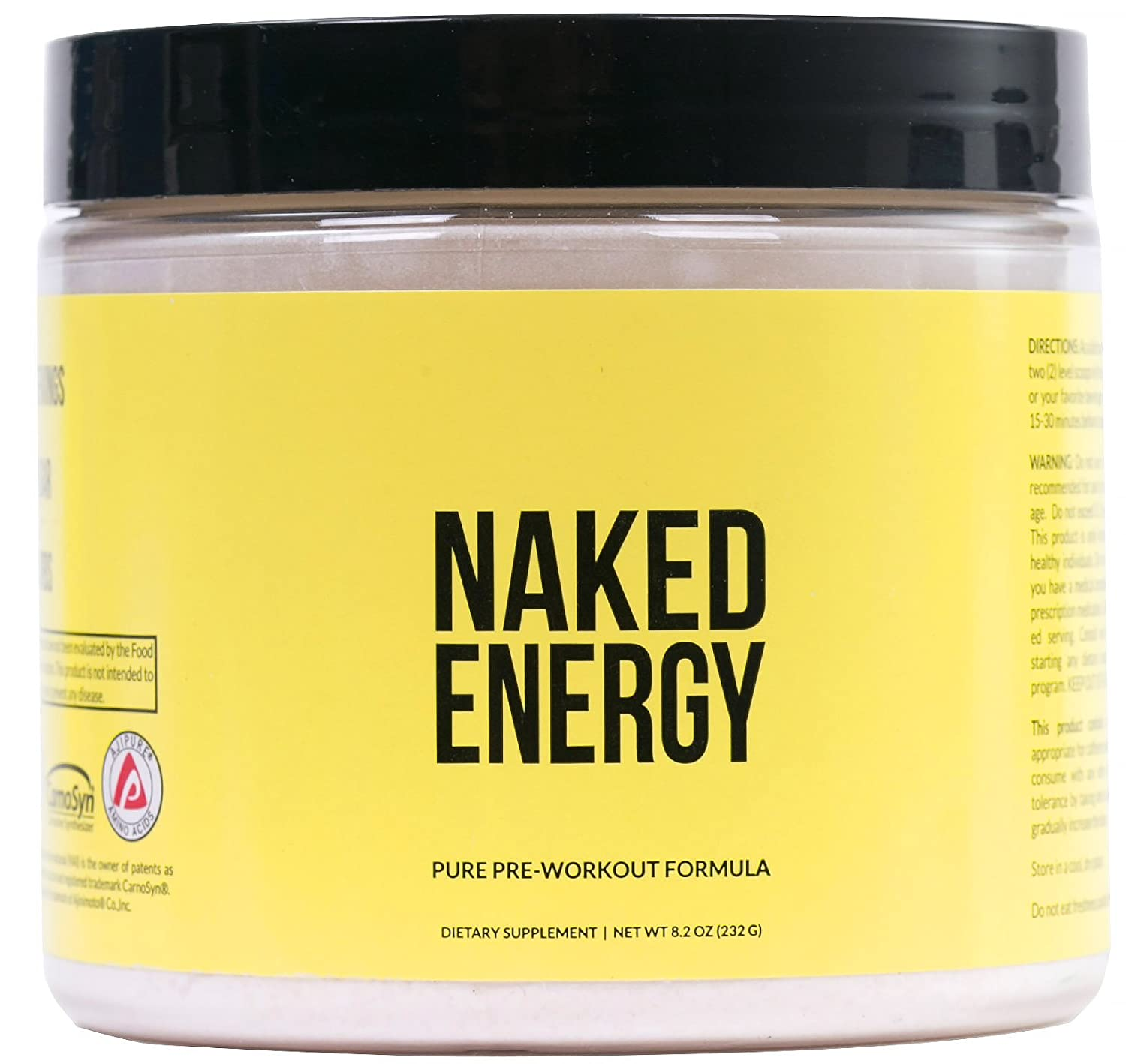 NAKED Nutrition Naked Energy Pre-Workout Powder review