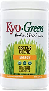 Kyo-Green Green Blends Energy Powered Drink Mix, 10 Ounce Bottle