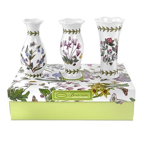 Amazon Portmeirion Botanic Garden Vases Mini Set Of 3