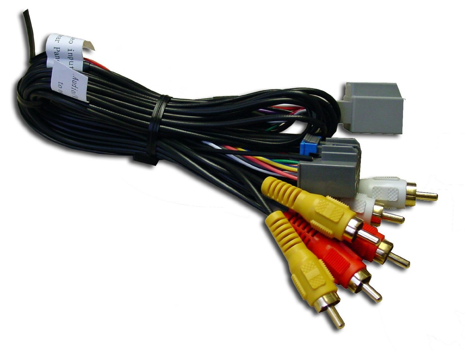 Pac Gmrvd Overhead Lcd Retention Cable For General Chevrolet Truck Wiring Harness Adapter Dvd Motors Vehicles With Rear Seat Entertainment Car Electronics
