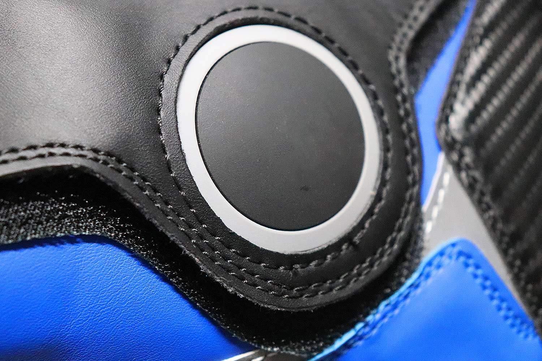 Rouge Bottes Moto-Dirt-Pocket pour Enfant 38