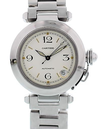 Cartier Pasha Automático del Uno Mismo del Viento Ver 2324 para Mujeres: Cartier: Amazon.es: Relojes