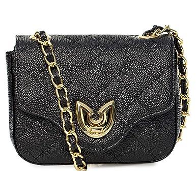 b158eab84 Gianfranco Ferre F-00054619 Crossbody Bag for Women - Leather, Black ...