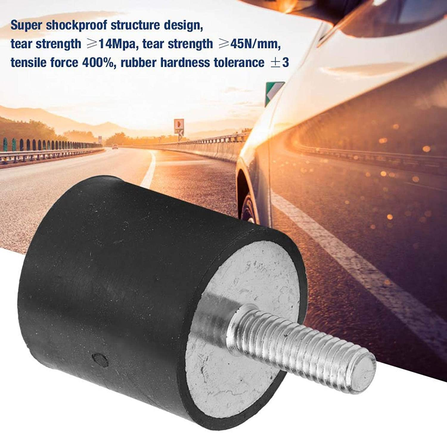 Romantic Valentines Day Rubber Bobbin Mount Non-Toxic Anti-Vibration Isolator Fitness Equipment Automotive Industry for Shockproof Products Heavy Machinery VE2525 M618