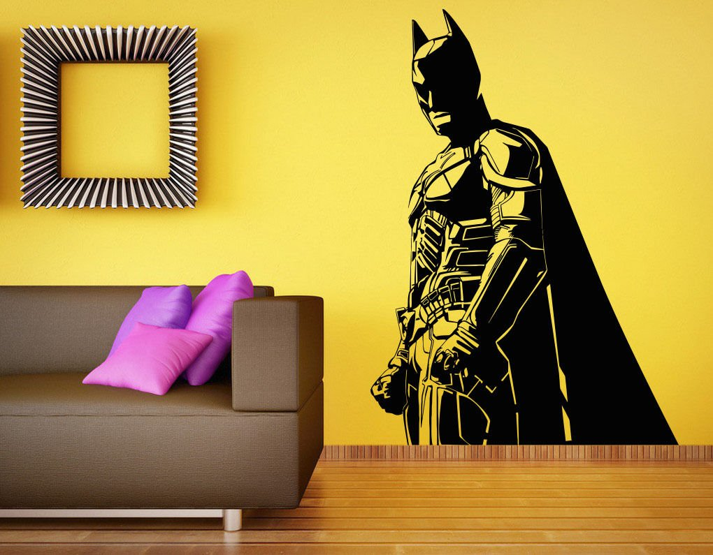 Amazon.com: Batman Wall Decal Vinyl Sticker The Dark Knight ...