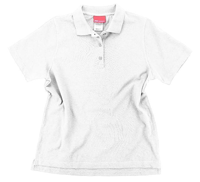 d2e5ab444500 Reebok Womens Split Short Sleeve Polo at Amazon Women s Clothing store