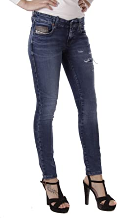 Diesel Jeans Para Mujer Pantalones Slim Fit Low Waist Amazon Es Ropa Y Accesorios