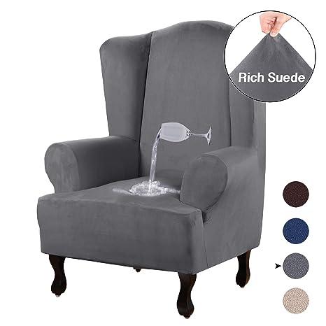 Turquoize - Funda para sofá de 1 Pieza de Spandex, elástica ...