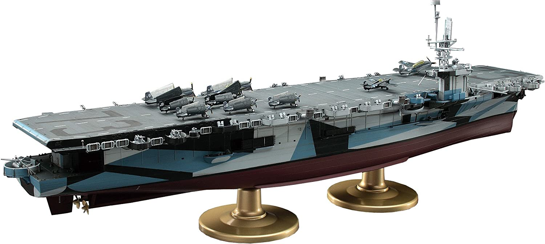 Hasegawa 1/350 U.S. Navy escort carrier CVE-73 Gambia bay (Z27) yJapanese plastic modelz