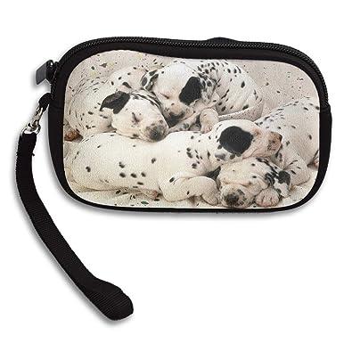Amazon.com: Monedero Dalmatian Dormir Perro Teen Niñas ...