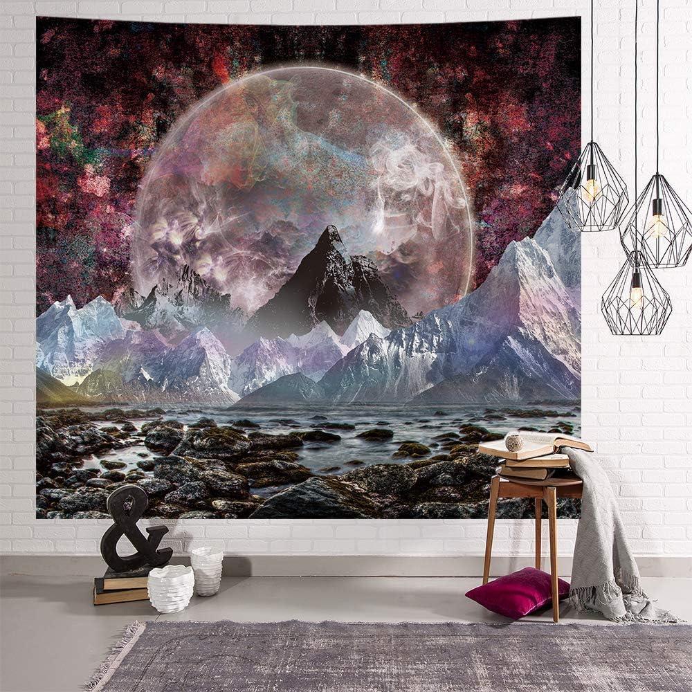Bubunix Tapisserie Mandala Elephant Murale Tapisserie Indienne Boh/ème Hippie Mural d/écoratives d/'int/érieur 130X150 CM Style 1