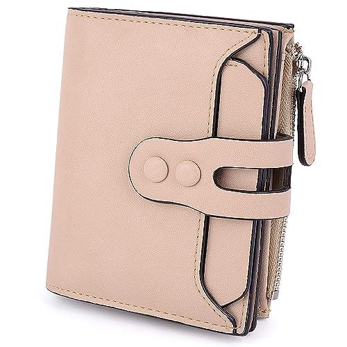 6d4dfe2e2044 UTO Women's RFID Blocking PU Matte Leather Wallet Card Holder ...