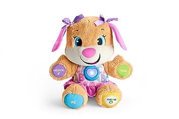 Fisher-Price - Hermana perrrito Epo primeras palabras (Mattel FPP56)