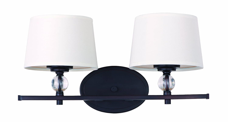 lighting fixtures for bathroom vanity. maxim 12762wtpn rondo 2light bath vanity polished nickel lighting fixtures amazoncom for bathroom
