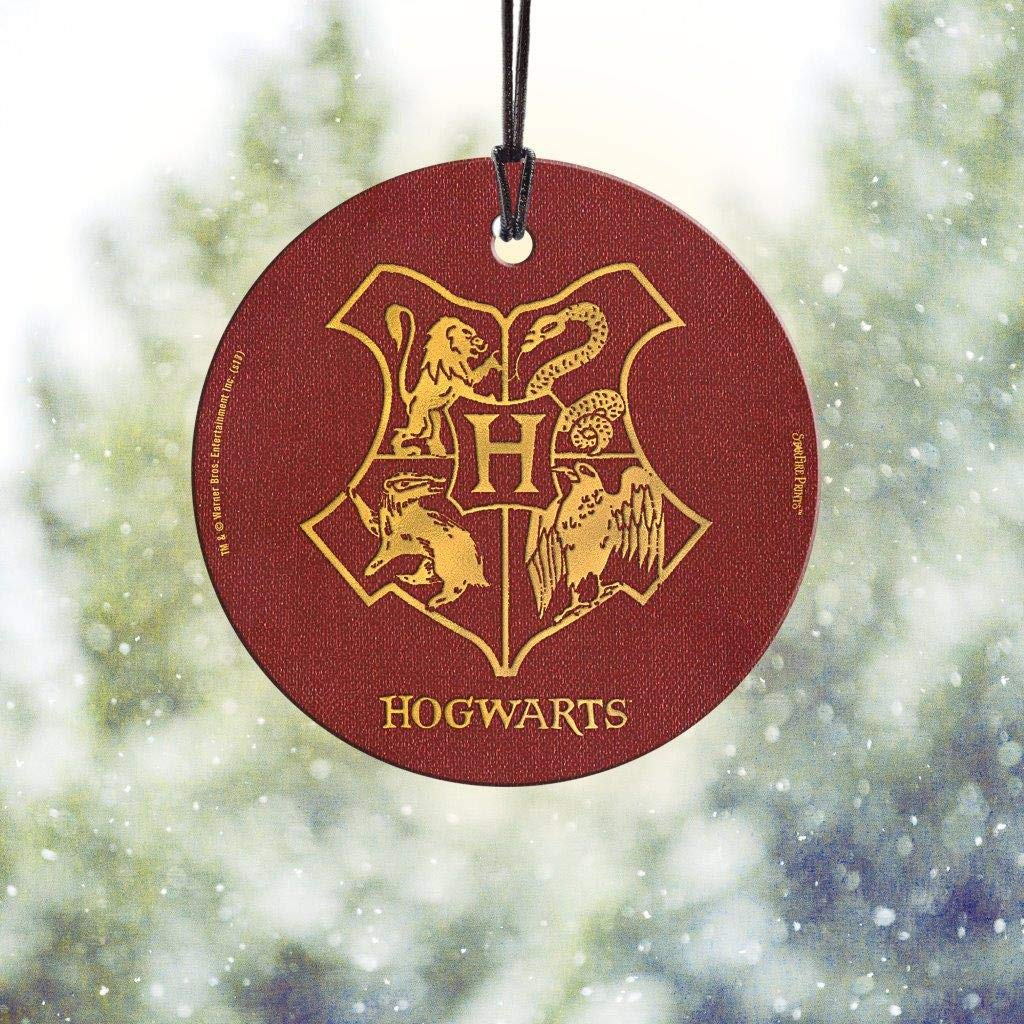 Trend Setters Harry Potter Hogwarts Starfire Prints Hanging Glass