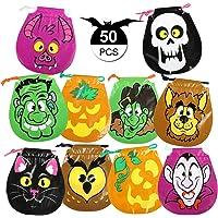 GWHOLE 50 x Bolsa de Dulces Halloween