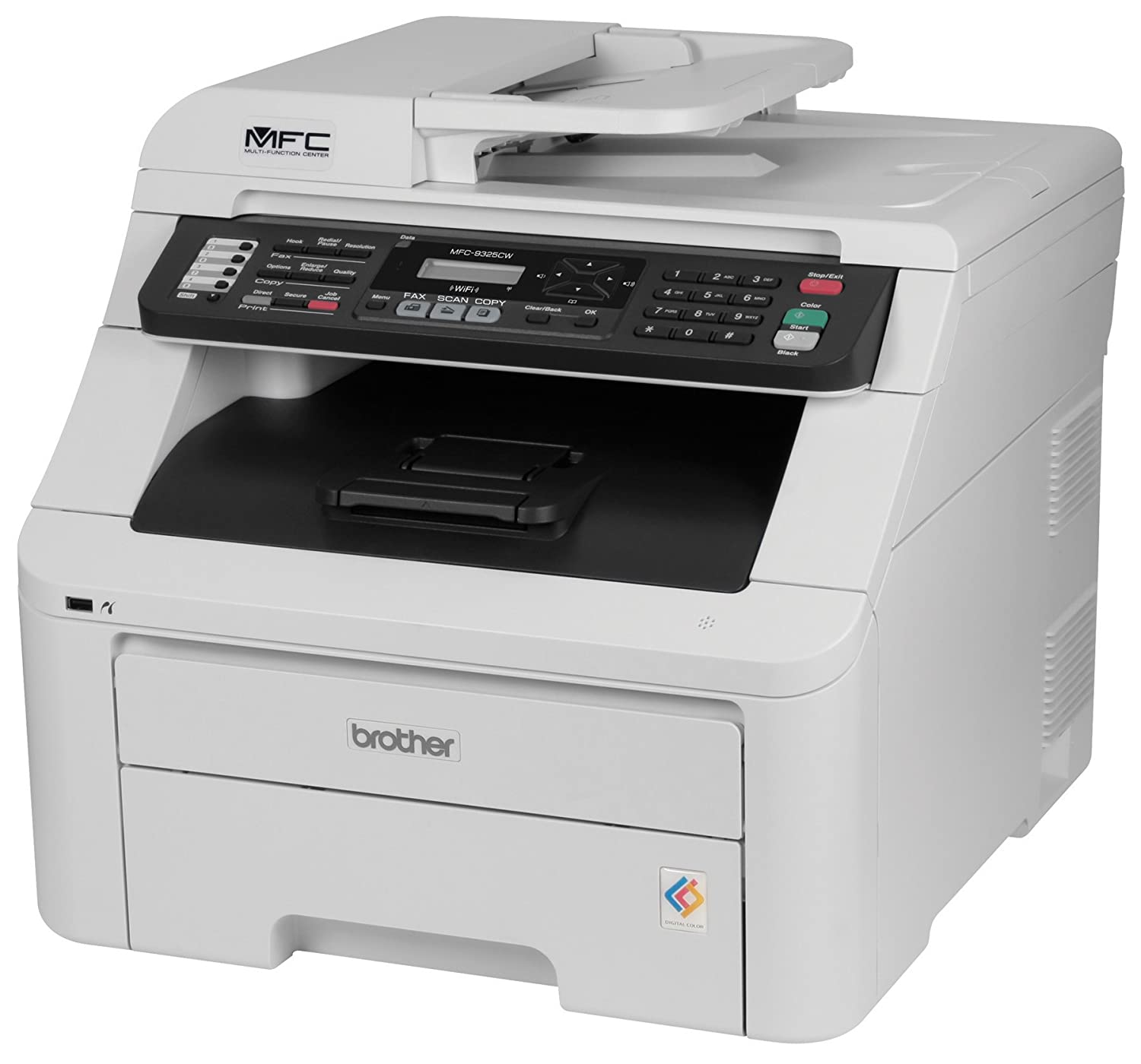 Amazon.com: Brother MFC9325CW Wireless Color Printer with Scanner, Copier &  Fax: Electronics