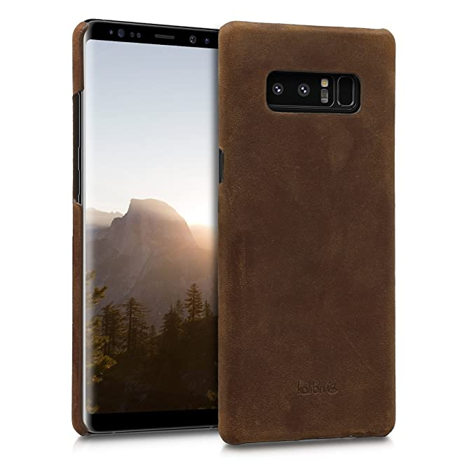 1 opinioni per kalibri Custodia in Vera Pelle per Galaxy Note 8- Back Cover Protettiva Case