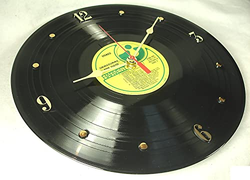 IT S OUR EARTH Vinyl Record Clock Hand Made Using a Pink Floyd – Ummagumma Record Album Recycled
