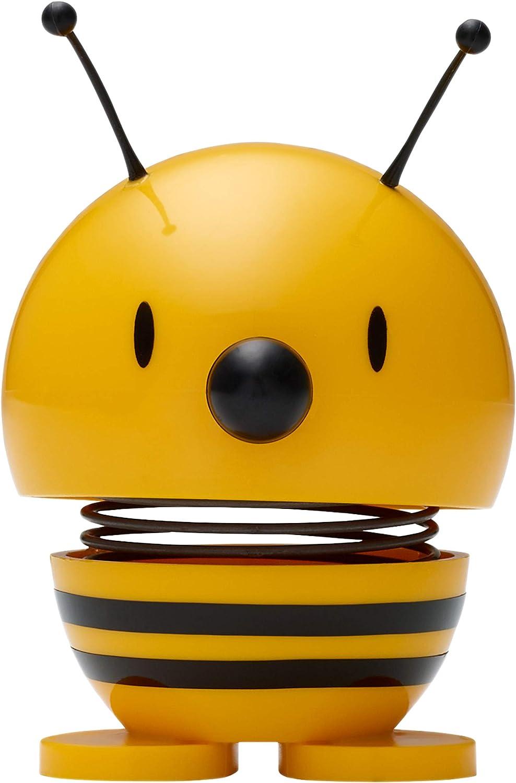 3007-20 Wackelfigur /Ø 5 cm Wackel Figur Gelb Hoptimist Bee Dekofigur Dekoidee Plastik