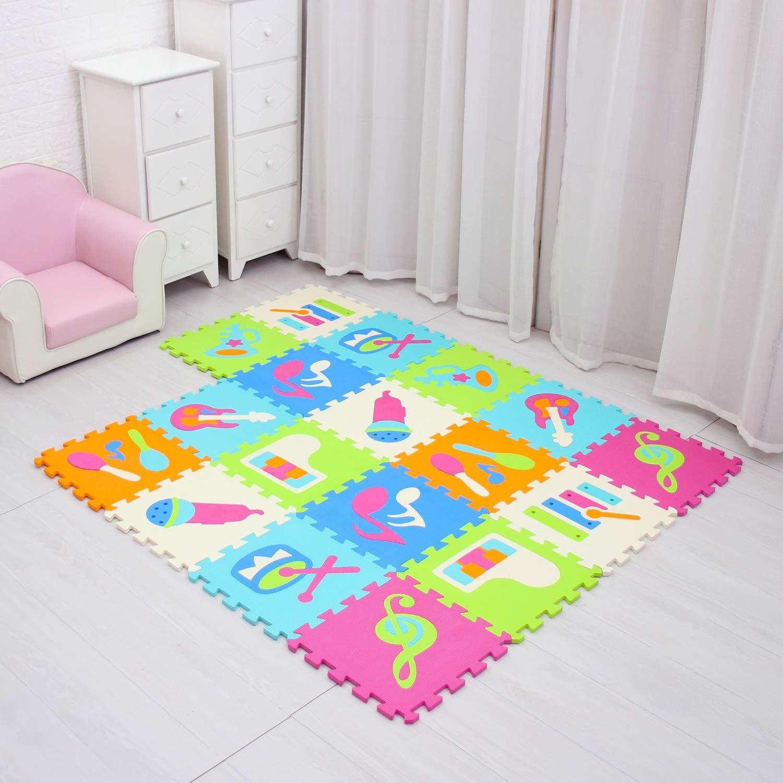 Baby Play Mat Game Mat Floor Tile Foam Pads Foam Kids Kid Rug Tile Flooring Baby Floor Mat