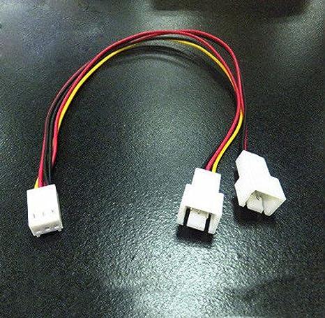 3 pines ventilador de la CPU deceleración línea cables de ...