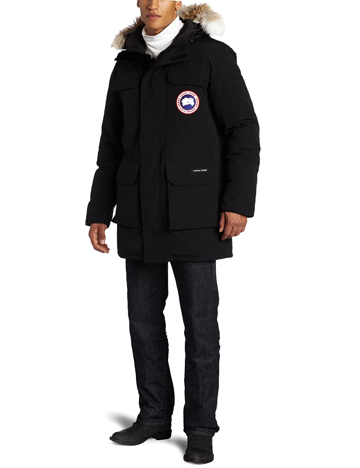 Amazon.com: Canada Goose Men's Citadel Parka,Black,Medium: Sports ...
