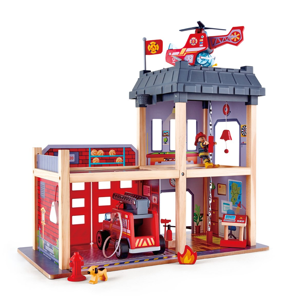 Feuerwehrstation Holz - Hape Großstadt-Feuerwache