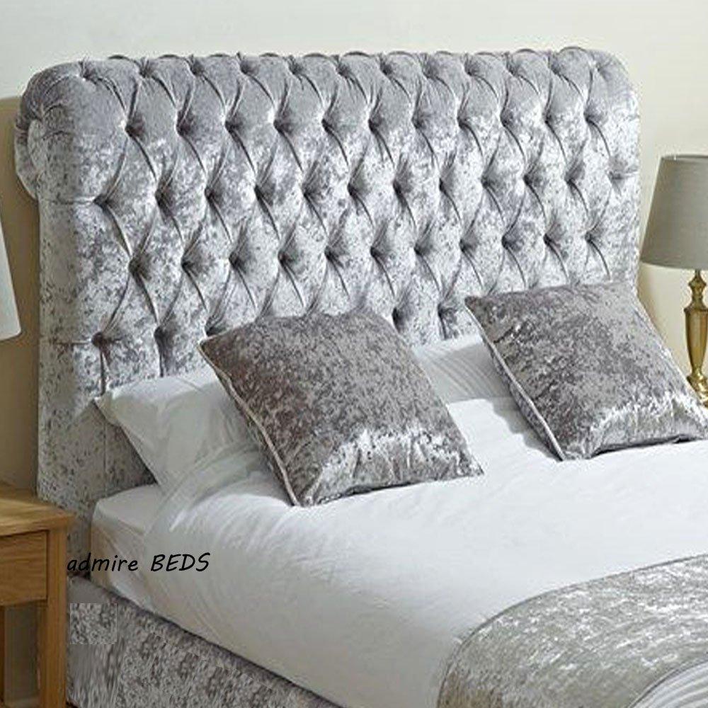 Admire BEDS New Royal Luxus Qualität Gepolsterten Chesterfield-Stil ...