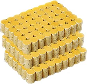 162PCS Moxibustion Moxa Cones, Pure Moxa Rolls 60:1 Ratio, 10-Years High Pure Acupuncture Chinese Mugwort Ai Jiu Moxibustion Sticks (Natural)