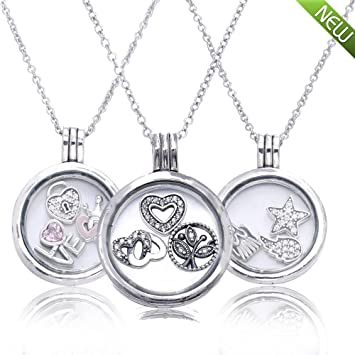 Pandocci 2016 autumn medium floating locket necklace pendants charm pandocci 2016 autumn medium floating locket necklace pendants charm necklacesoriginal 925 sterling silver jewelry for women aloadofball Gallery