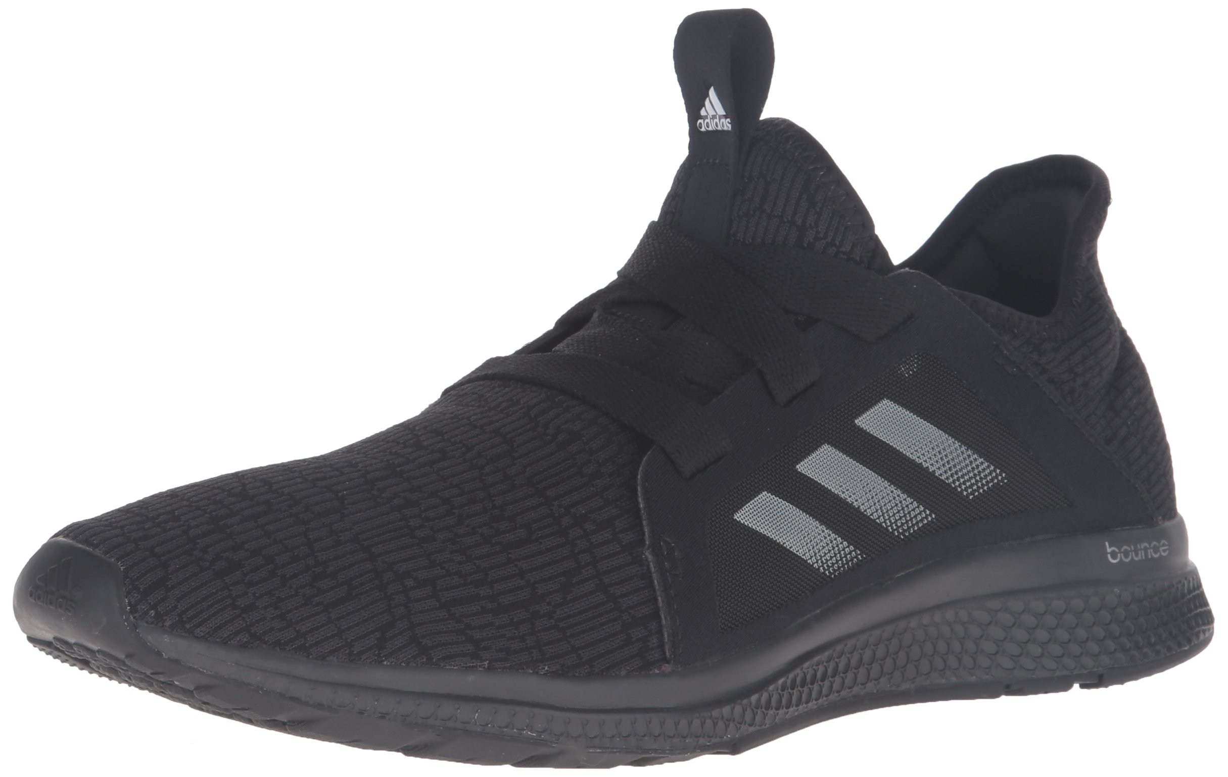 adidas Women's Edge Lux w Running Shoe, Black/White/DGH Solid Grey, 9 M US