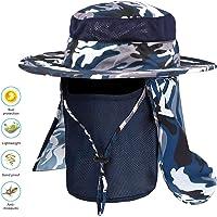 Idefair Sombrero de pesca al aire libre Hombres