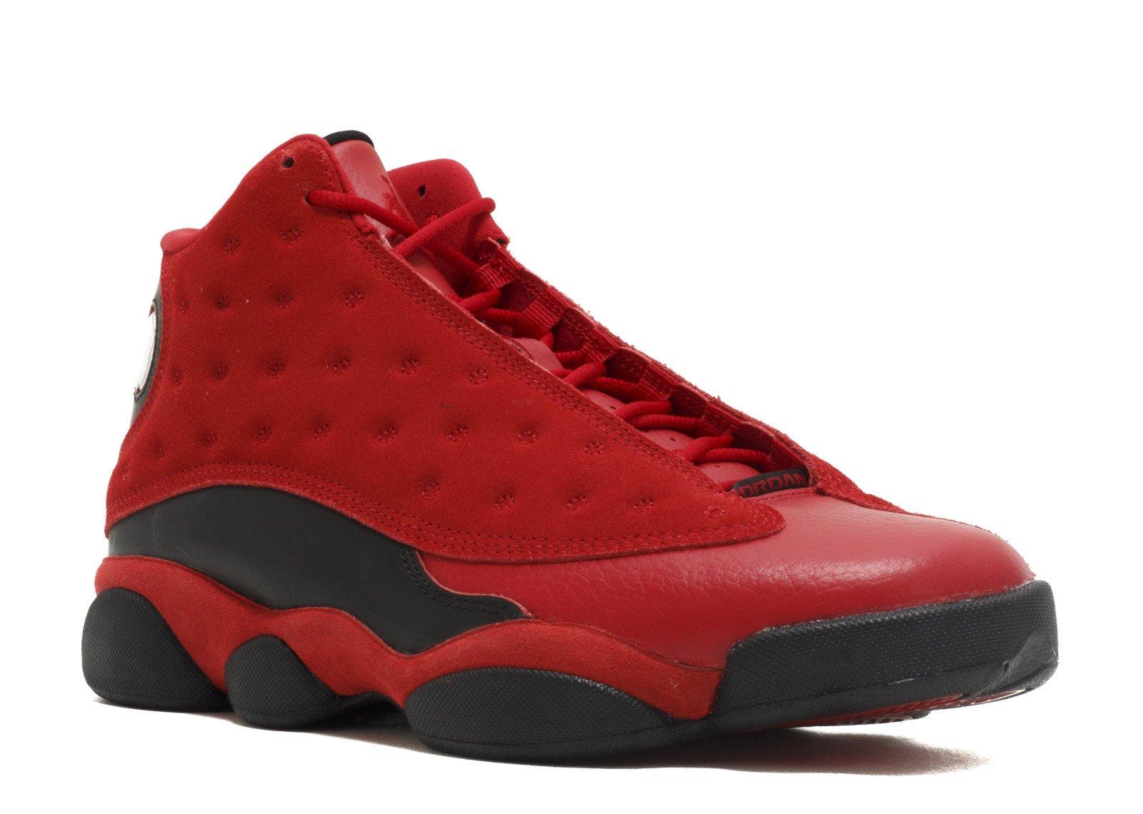 472ecd970fef7e Galleon - Nike Air Jordan 13 Retro Single Day China Exclusive Gym Red Black 888164  601 Mens Sz 10 Us