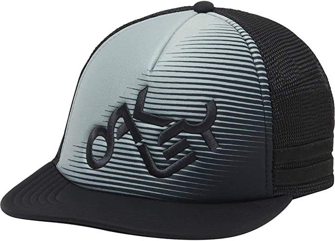 outlet store new product the cheapest Oakley Men's Novelty Logo Trucker Hat, Arctic Surf, One Size ...