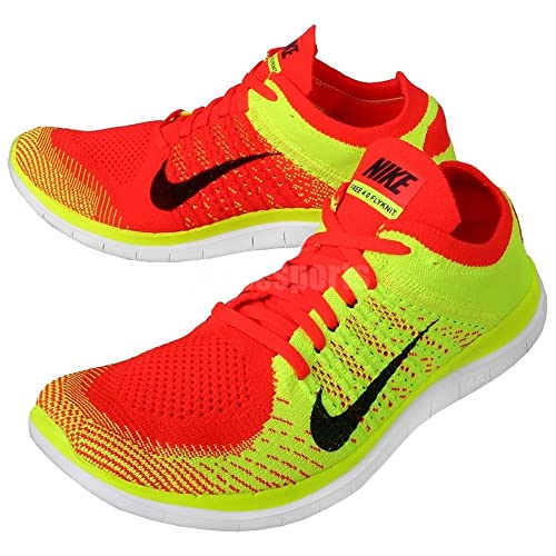 promo code 3de91 b2c06 Nike Free 4.0 Flyknit 631053 602 Bright Crimson/Black-Volt ...