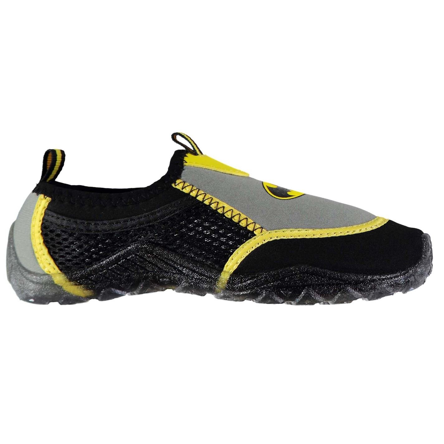 Character Kids Aqua Splasher Shoes Slip On Water Sports Pull Toggle Summer Batman UK C9 (27)