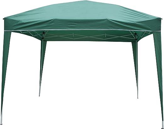 Cenador plegable, 3 x 3 m, impermeable, tipo FGZ-033, verde ...