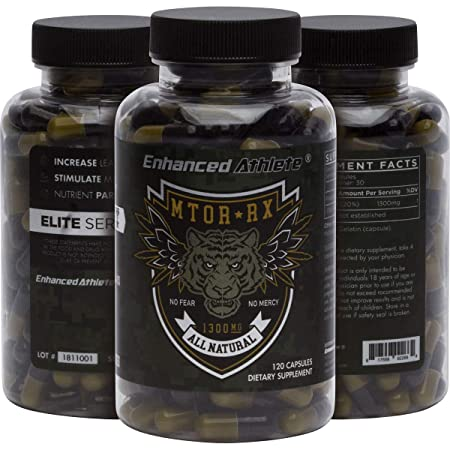Enhanced Athlete Mtor-Rx – Fully Dosed Phosphatidic Acid, Stimulate M-Tor Activity, Assist Nutrient Partitioning