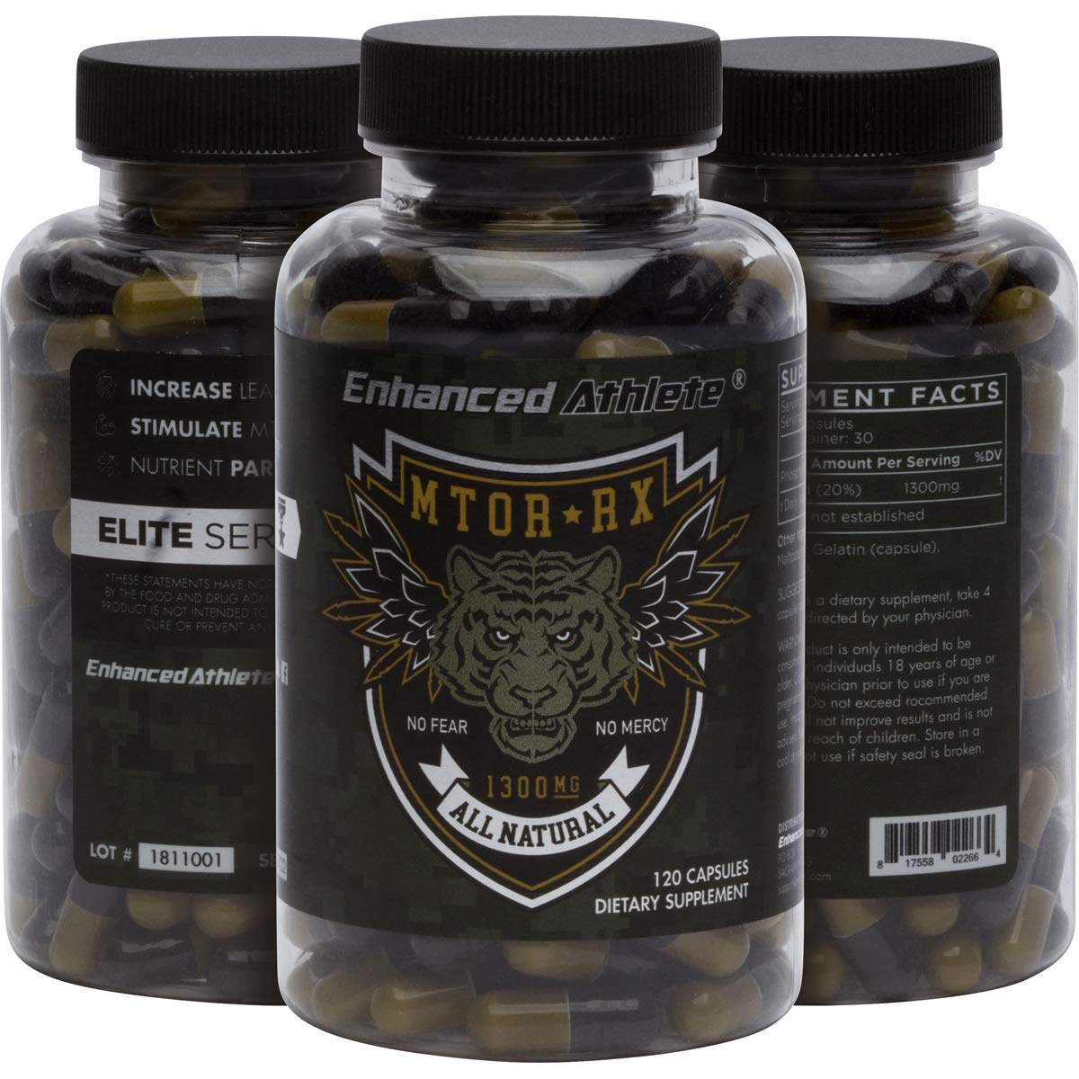 Enhanced Athlete Mtor-Rx - Fully Dosed Phosphatidic Acid, Stimulate M-Tor Activity, Assist Nutrient Partitioning